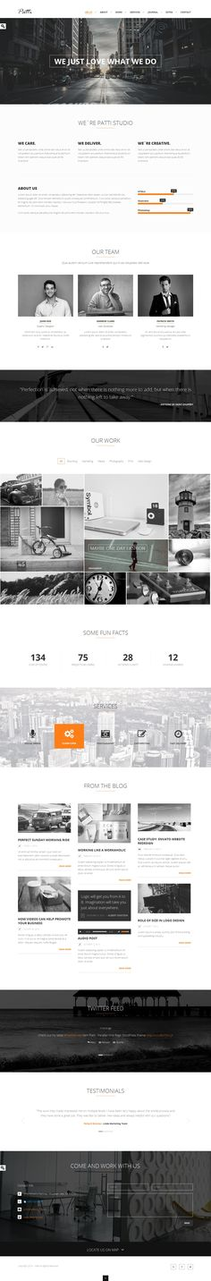 15 TOP Creative Premium WordPress Themes of 2014 #web #design