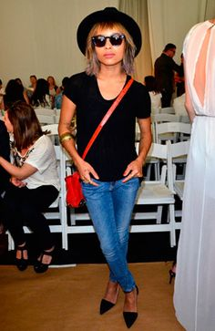 New York: Zoe Kravitz at Sass & Bide