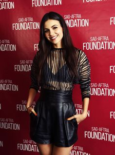Victoria Justice – SAG-AFTRA Foundation hosts a special screening for Summer Night in LA adds Victoria Dawn Justice, Vicky Justice, Divas, Victorious Justice, Young Actresses, Hollywood Actresses, Girl Inspiration, Leather Shorts, Beautiful Actresses