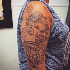 50 Colorful Japanese Geisha Tattoo Meaning and Designs