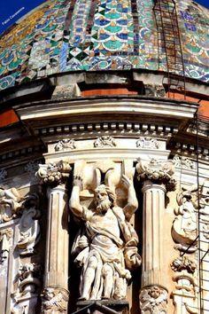Palermo barocca, scorcio cupola chiesa Carmine Maggiore - Foto di Fabio Cavasenna