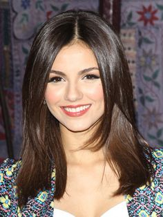 Victoria Justice - shoulder length hair - Although this length is so easy to manage, the minute I cut it this short I miss my long hair
