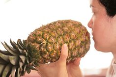 How to tell if a pineapple is ripe... bought a pineapple yesterday and am trying to decide when to cut into it.