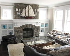 New England Cottage Aesthetic: After | Best Fireplace and Mantel Before and Afters 2013 | This Old House