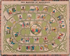 The Mansion of Happiness board game  1894  Parker Brothers  Salem, Massachusetts  Collection of The Strong, Rochester, New York