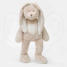 Pluszowy Królik Teddy - Beżowy 78 cm