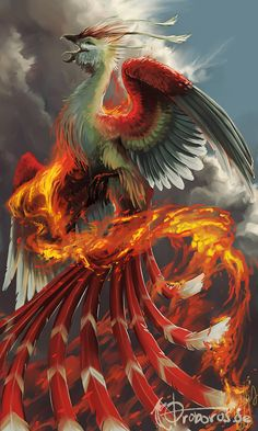 # PHOENIX; Suzaku by *nathradas on deviantART