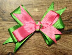 I made this bow : )