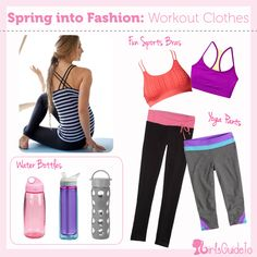 Love these cute and affordable workout clothes!