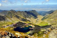 On your trip on Transfagarasean, Stop at Balea Lake. Fagaras,Romania