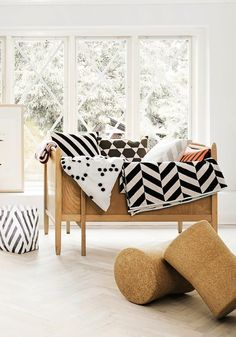 Graphic patterns for children accessories - OYOY