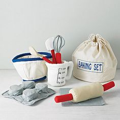 Cotton Baking Play Set