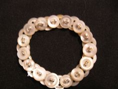 vintage mother of pearl with gold or by TrinitySilverJewelry, $20.00