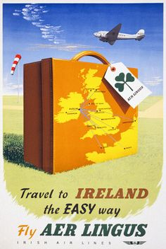 By request… Aer Lingus - Ireland Travel Poster