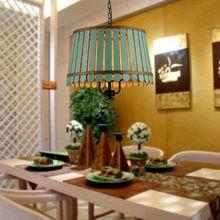 American wood bucket restaurant pendant light personalized study room light(China (Mainland))