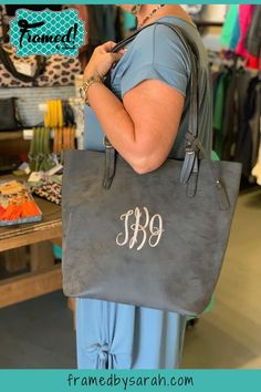 Bridal Gift Monogrammed Tote Birthday Gift Christmas Gift Monogram Monogrammed Bag Monogrammed Faux Leather Purse Personalized Item