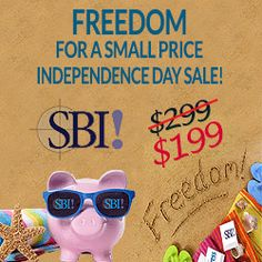 Quality content and SBI! is how I get 20K visits a month. They have a best ever sale on now, had to share!