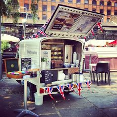 The London's mobile tea room - Le Tazze di Angiolina. Food Truck, StartUp…