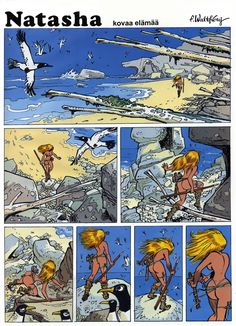 Bd Comics, Comics Girls, Batman, Superman, Prehistoric Man, Western Comics, Ligne Claire, Comic Book Pages, Comic Drawing