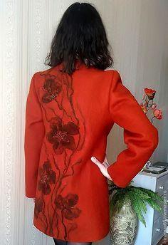 """Верхняя одежда ручной работы. Пальто """" Ружене """". Ирина Майорова. Ярмарка Мастеров. Пальто ручной работы"""