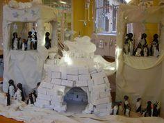 """Penguins igloo display ("""",)"""