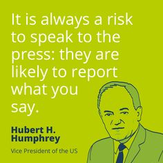 That's the crazy thing about 'press'!   #PR #quotes
