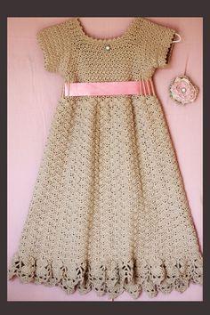Always A Lady  Crochet Pattern Sundress and by CrochetGarden, $6.99