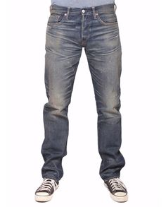 EXCLUSIVE Ron Herman Denim designed by Simon Miller  Authentic Straight Leg Jean in Pioneer