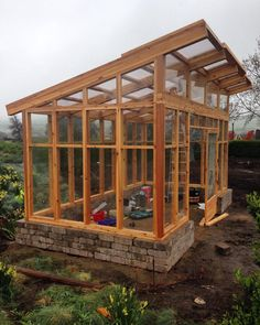 """Greenhouse construction is underway at the new @sunsetmag test gardens at @cornerstonesonoma! This beautiful modern greenhouse from the folks…"""