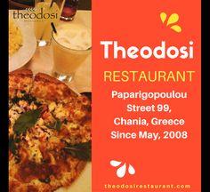 Experience the best of Cretan cuisine at Theodosi restaurant