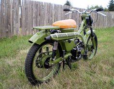 Reader Ride! A Sort Of Combat CT90!   Motorcycle Photo Of The Day