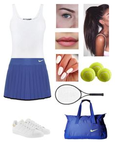 """Congrats to French Open winners🎉🎾"" by rusher-11 ❤ liked on Polyvore featuring Vince, NIKE, adidas Originals and Elisabeth Weinstock"