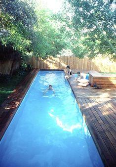DIY lap pool & spa plans.