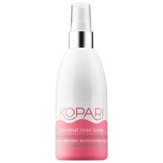 Shop Kopari's Coconut Rose Toner at Sephora. It's a refreshing toner that restores skin's natural balance.