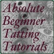 Absolute Beginner Tatting Tutorials Series on Tatted Treasures: Ancient Lace for a Modern Age beginning at www.tattedtreasur… Absolute Beginner Tatting Tutorials Series on Tatted Treasures: Ancient Lace for a Modern Age beginning at www. Crochet Crafts, Yarn Crafts, Sewing Crafts, Sewing Projects, Crochet Doilies, Diy Crafts, Needle Tatting Patterns, Embroidery Patterns, Crochet Patterns