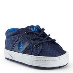 Armani Baby Boys Pale Blue Leather Pre-Walker Shoes at Childrensalon.com | Scarpine | Pinterest | Boys, Babies and Kids online