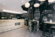 The Stock Coffee Shop Features an Informal Design #cafes trendhunter.com