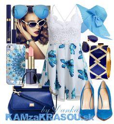 #kamzakrasou #sexi #love #jeans #clothes #coat #shoes #fashion #style #outfit #heels #bags #treasure #blouses #dressOutfit plný modrej farby - KAMzaKRÁSOU.sk