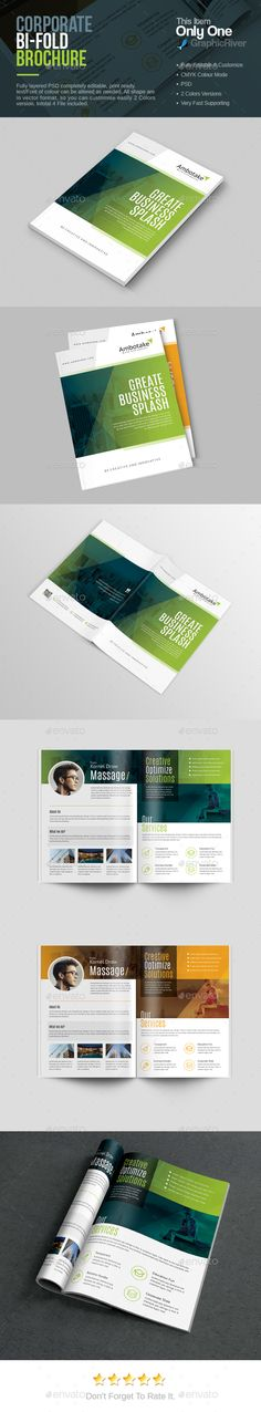 Bi-Fold Brochure Template PSD. Download here: http://graphicriver.net/item/bifold-brochure/16021022?ref=ksioks