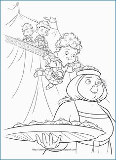 Brave Merida Coloring Pages. The core story of this film is about the life of a girl named Merida, the only daughter of the Kingdom of Dunbroch in the Scottish highlands. Merida h.