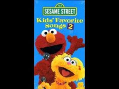 Sesame Street: Kids Favorite Songs 2 (2001 VHS) - YouTube Elmo Song, Elmo World, Hey Diddle Diddle, Itsy Bitsy Spider, Happy A, Hit Songs, Music Publishing, Day Up, Youtube