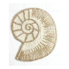 Hampton Shells Tropical Shower Curtain and Bath Accessories by Avanti