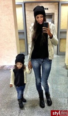 15. Out and #about - 23 Stunning #Mother Daughter #Outfits You Can Wear Together…