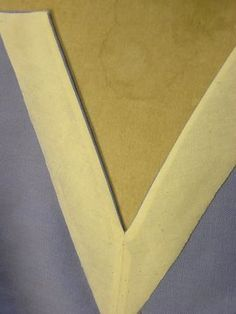 """How to sew V necklines with facings"", from Kathleen Fasanella's blog: http://fashion-incubator.com/archive/how-to-sew-v-necklines-with-facings/"