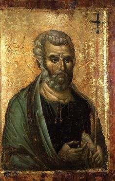 Icon of Saint Peter; Late Byzantine, third quarter of the 13th century