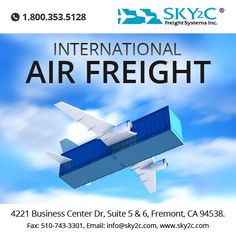 Get in touch with Sky2c for further details about our #international #air freight services or #commercial #cargo. Request a free quote. We look forward to hearing from you!