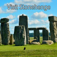 Bucket list: plan a trip and visit Stonehenge!