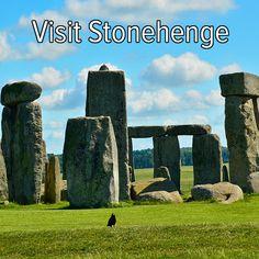Bucket list: plan a trip and visit Stonehenge!