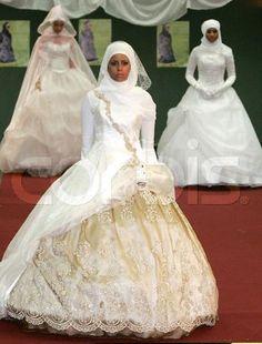 Мусульманские свадебные платье заказать фото