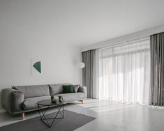 Y Home Minimalist Apartment by Office ZHU - Design Milk Apartment Renovation, Apartment Interior Design, Living Room Interior, Living Room Bar, Minimal Home, Minimalist Apartment, Minimalist Furniture, Traditional Furniture, Wood Design